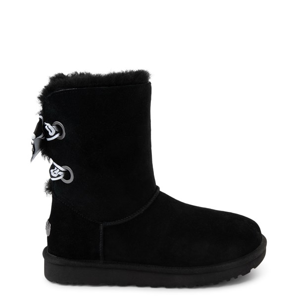 Womens UGG® Customizable Bailey Bow II Boot - Black