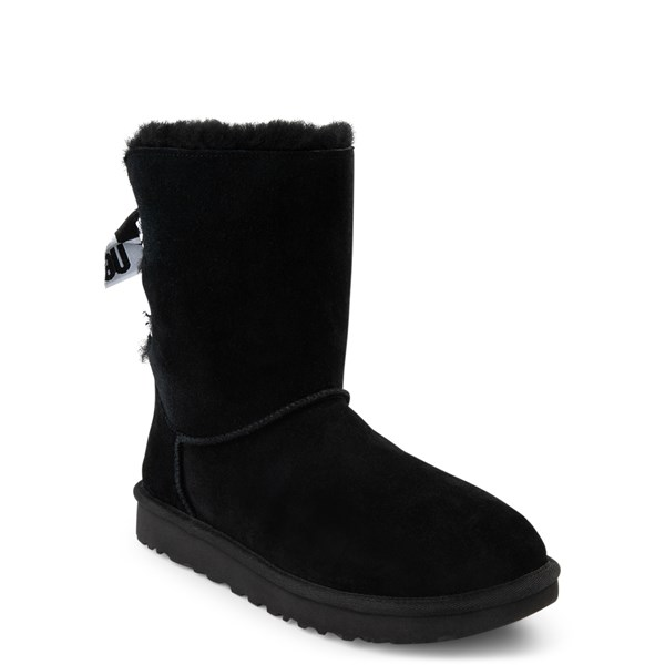 alternate view Womens UGG® Customizable Bailey Bow II Boot - BlackALT1