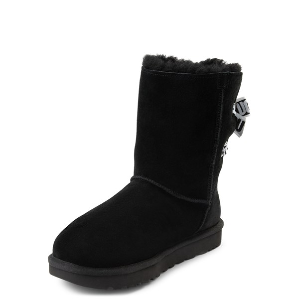 alternate view Womens UGG® Customizable Bailey Bow II Boot - BlackALT3
