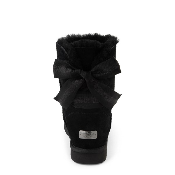 alternate view Womens UGG® Customizable Bailey Bow II Boot - BlackALT6