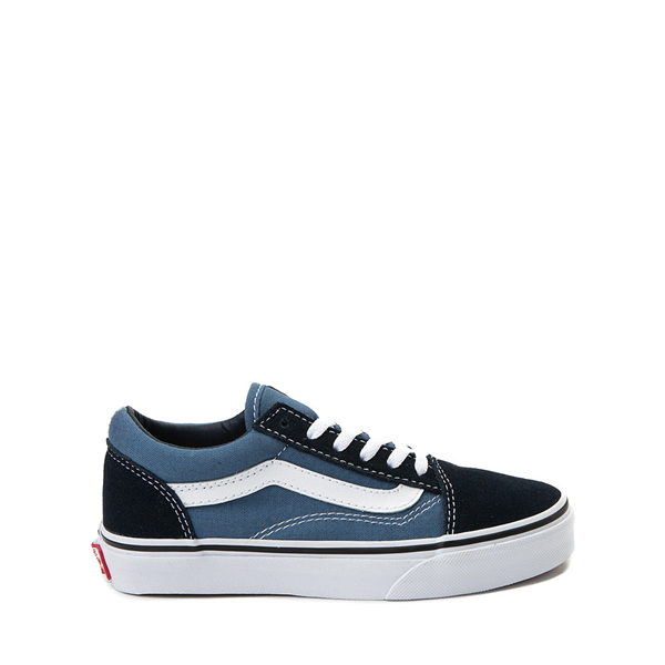 Vans Old Skool Skate Shoe - Little Kid - Blue / Navy