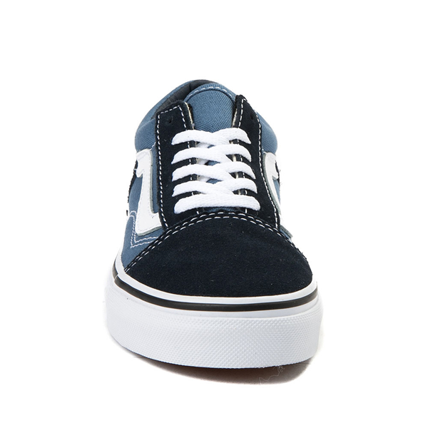 alternate view Vans Old Skool Skate Shoe - Little Kid - Blue / NavyALT4