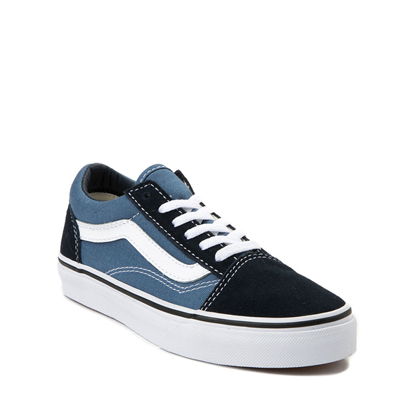 alternate view Vans Old Skool Skate Shoe - Little Kid - Blue / NavyALT5