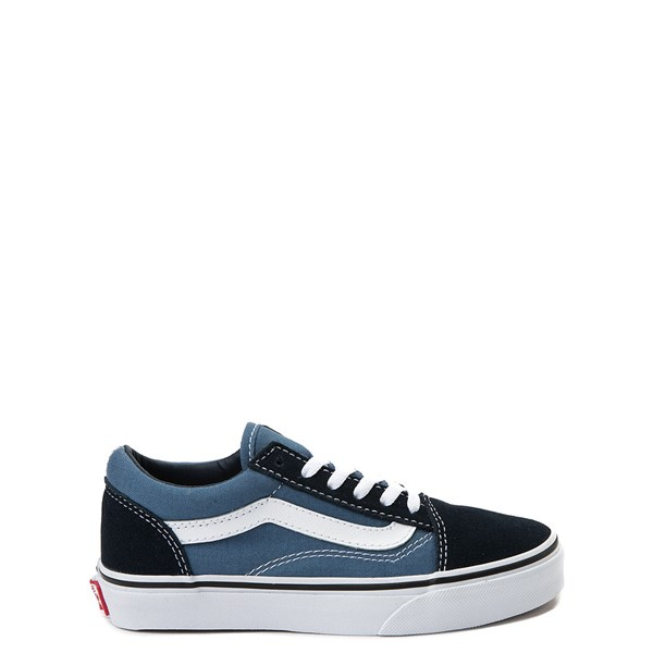 Main view of Vans Old Skool Skate Shoe - Little Kid - Blue / Navy