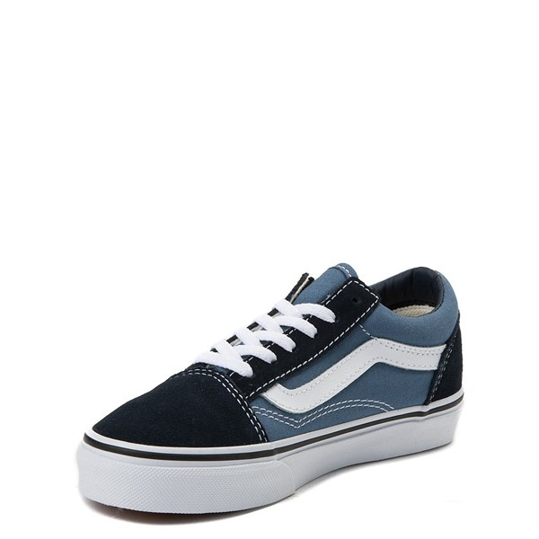 alternate view Vans Old Skool Skate Shoe - Little Kid - Blue / NavyALT3