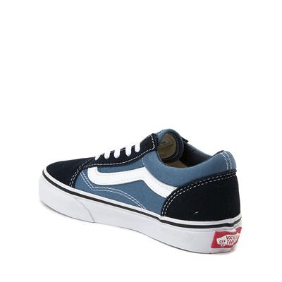 Alternate view of Vans Old Skool Skate Shoe - Little Kid - Blue / Navy