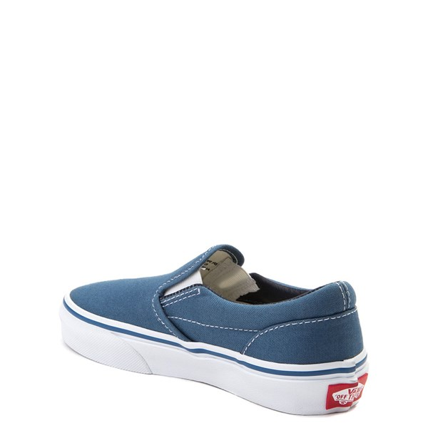 alternate view Vans Slip On Skate Shoe - Little Kid / Big Kid - NavyALT2