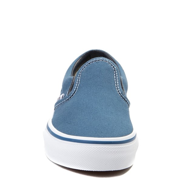 alternate view Vans Slip On Skate Shoe - Little Kid / Big Kid - NavyALT4