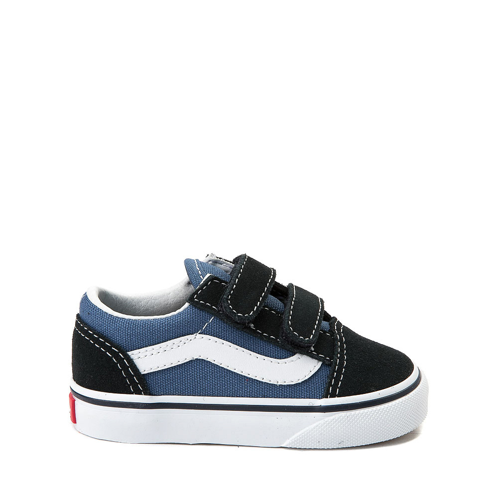 Vans Old Skool V Skate Shoe - Baby / Toddler - Blue / Navy