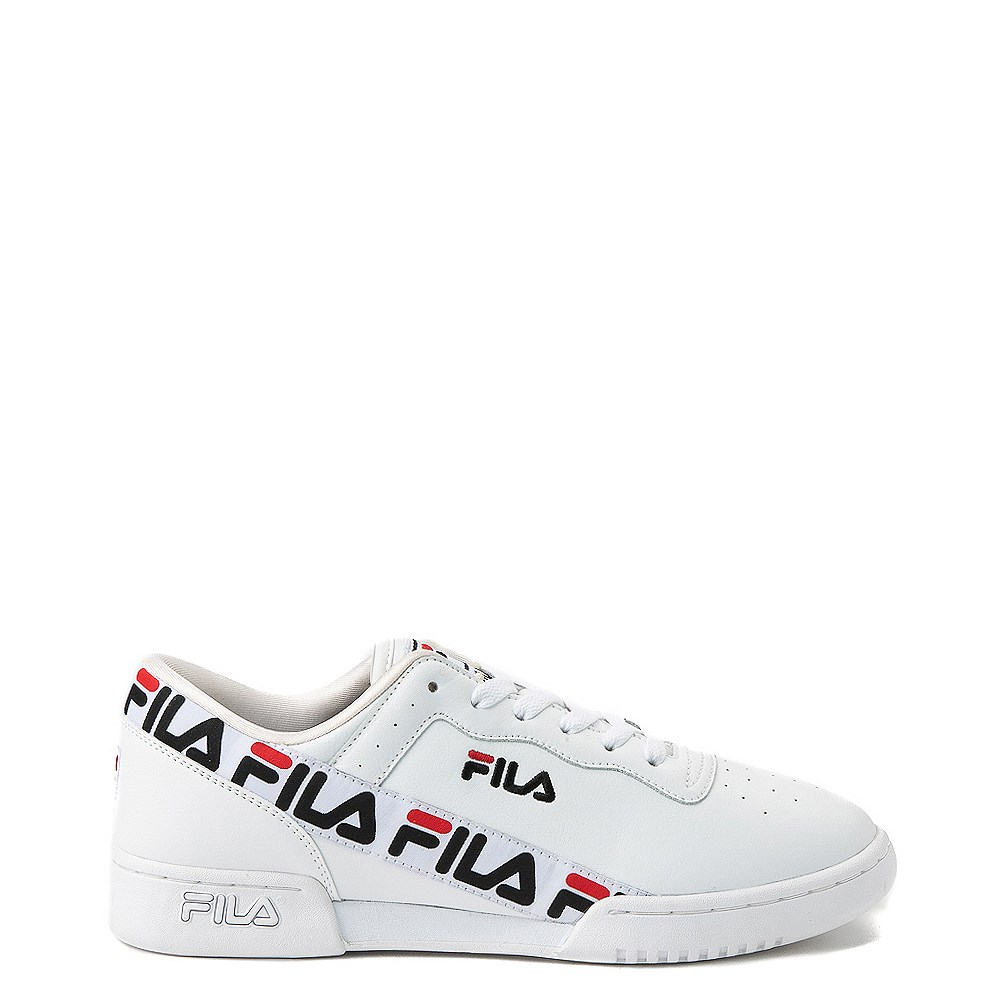 uk availability 3b624 54142 Mens Fila Original Fitness Tape Athletic Shoe