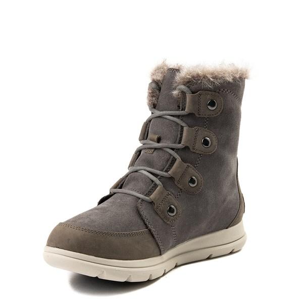 alternate view Womens Sorel Explorer™ Joan Boot - QuarryALT3