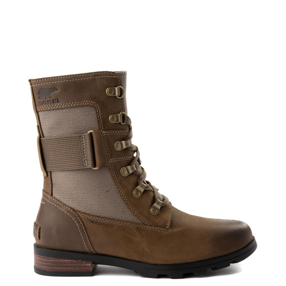 Womens Sorel Emelie Conquest Boot (Olive)