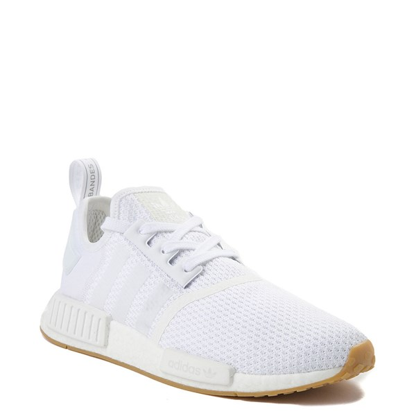 alternate view Mens adidas NMD R1 Athletic Shoe - WhiteALT1