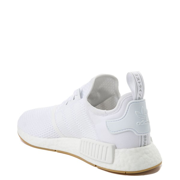alternate view Mens adidas NMD R1 Athletic Shoe - WhiteALT2