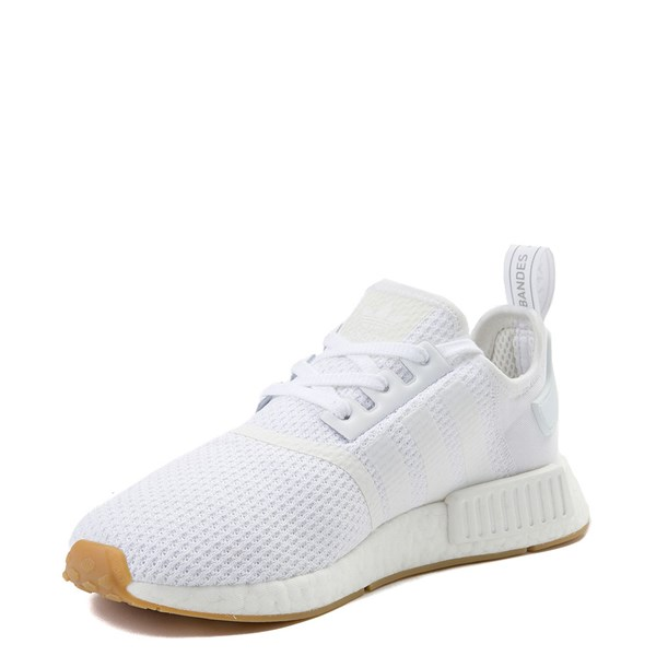 alternate view Mens adidas NMD R1 Athletic Shoe - WhiteALT3