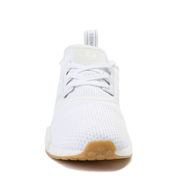 alternate view Mens adidas NMD R1 Athletic Shoe - WhiteALT4