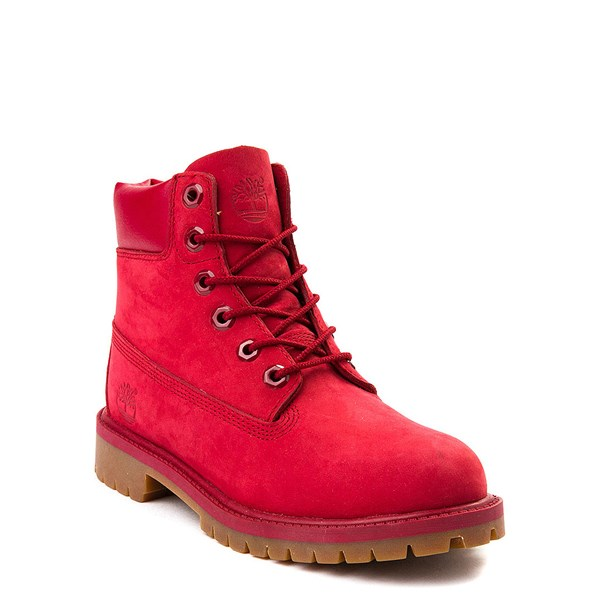 "alternate view Timberland 6"" Classic Boot - Little Kid - RedALT1"