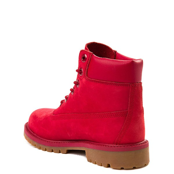 "alternate view Timberland 6"" Classic Boot - Little Kid - RedALT2"