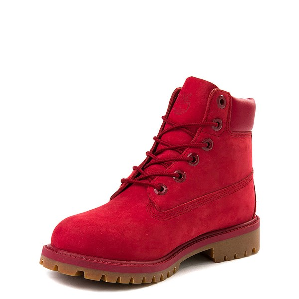 "alternate view Timberland 6"" Classic Boot - Little Kid - RedALT3"