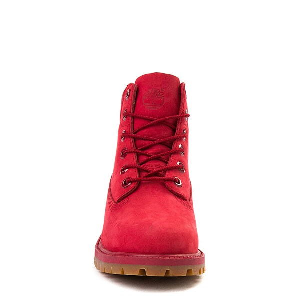 "alternate view Timberland 6"" Classic Boot - Little Kid - RedALT4"