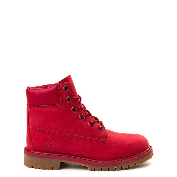 "Timberland 6"" Classic Boot - Big Kid - Red"