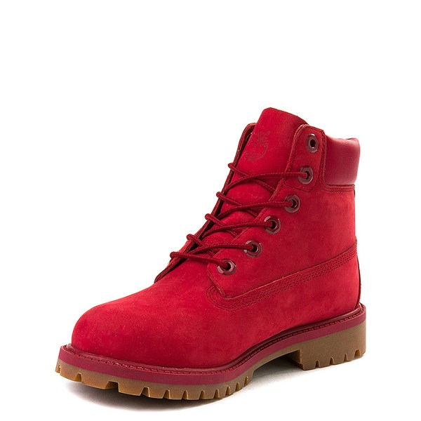 "alternate view Timberland 6"" Classic Boot - Big Kid - RedALT3"