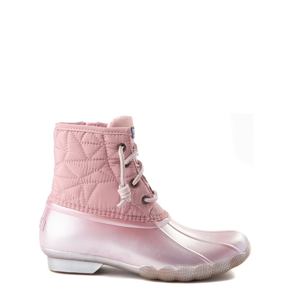 Main view of Sperry Top-Sider Saltwater Boot - Little Kid / Big Kid - Blush