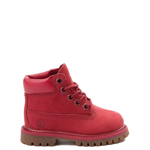"Default view of Timberland 6"" Classic Boot - Toddler / Little Kid - Red"
