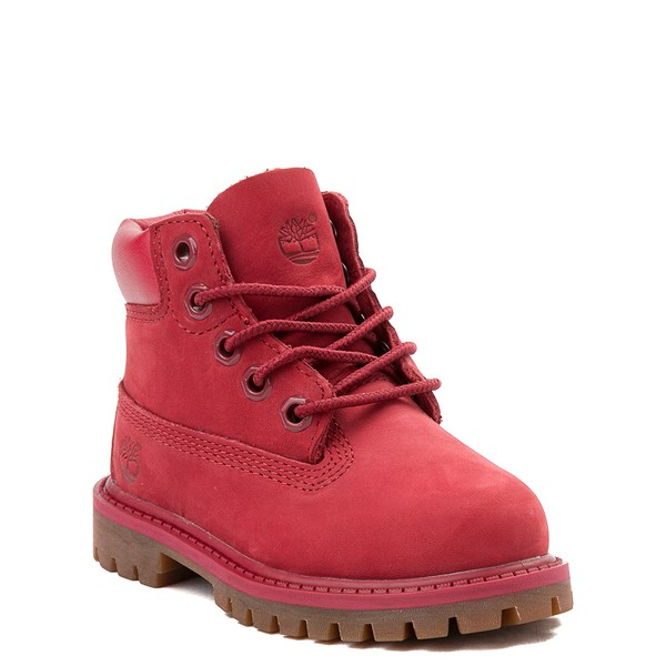 "alternate view Timberland 6"" Classic Boot - Toddler / Little Kid - RedALT1"