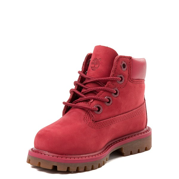 "alternate view Timberland 6"" Classic Boot - Toddler / Little Kid - RedALT3"