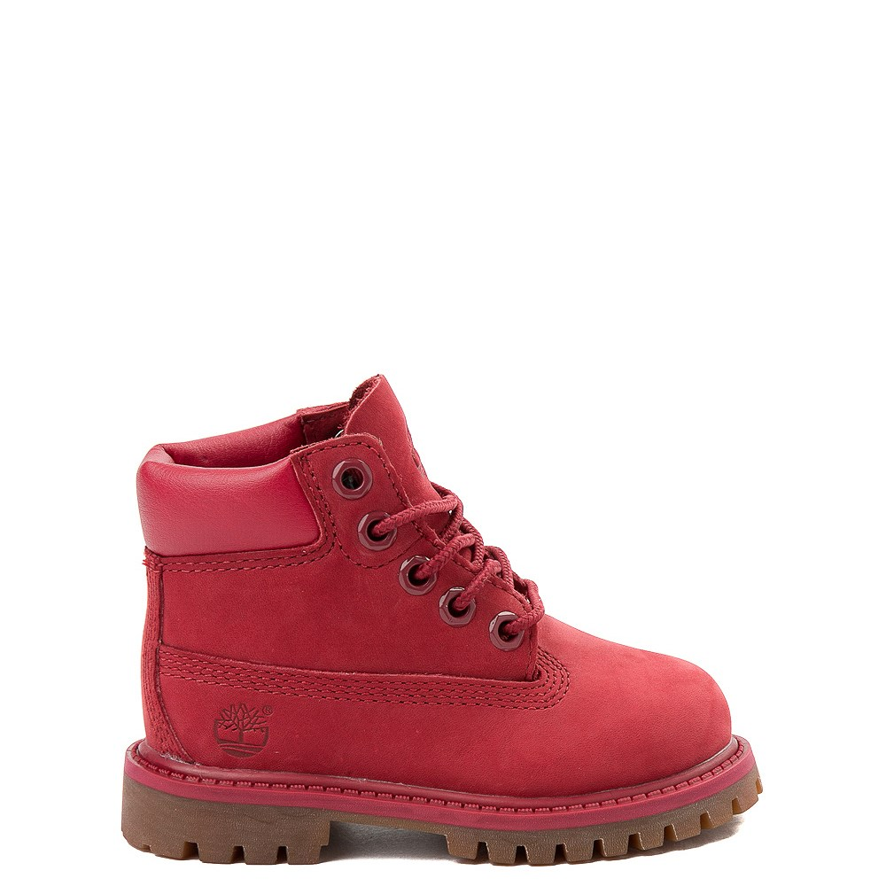 "Timberland 6"" Classic Boot - Toddler / Little Kid - Red"