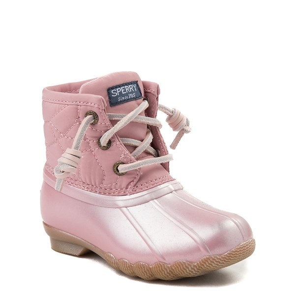 alternate view Sperry Top-Sider Saltwater Boot - Toddler / Little Kid - BlushALT1