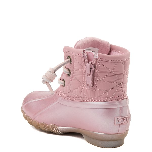 alternate view Sperry Top-Sider Saltwater Boot - Toddler / Little Kid - BlushALT2