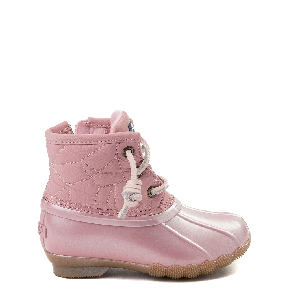 Sperry Top-Sider Saltwater Boot - Toddler / Little Kid - Blush