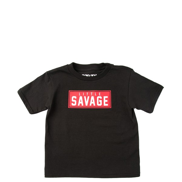 Main view of Little Savage Tee - Toddler - Black