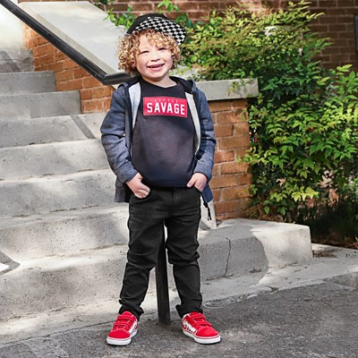 Alternate view of Little Savage Tee - Toddler - Black