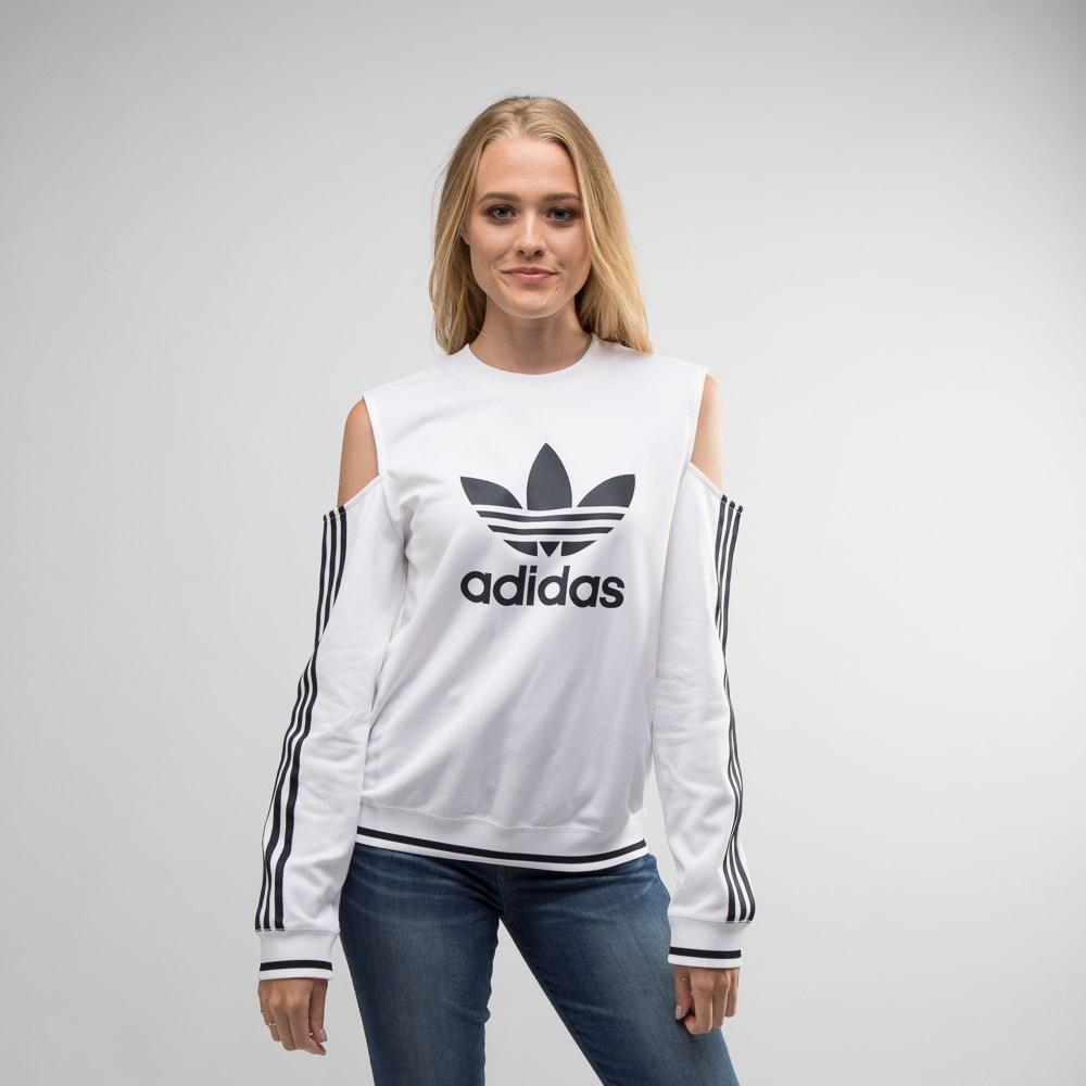 Womens adidas Trefoil Cutout Sweatshirt