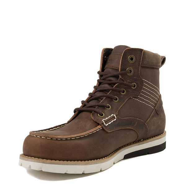 alternate view Mens Levi's Dawson Boot - BrownALT2
