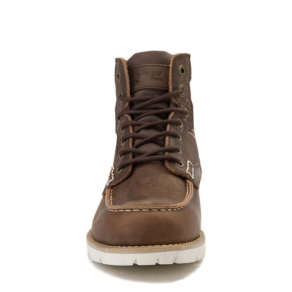 alternate view Mens Levi's Dawson Boot - BrownALT4