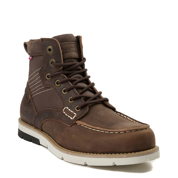 alternate view Mens Levi's Dawson Boot - BrownALT5