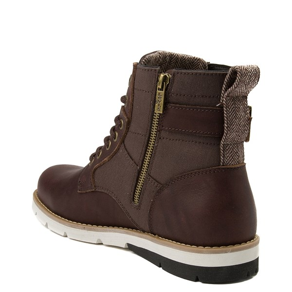 alternate view Mens Levi's Cobalt Boot - BrownALT2