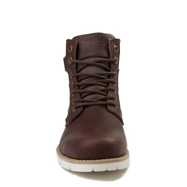 alternate view Mens Levi's Cobalt Boot - BrownALT4