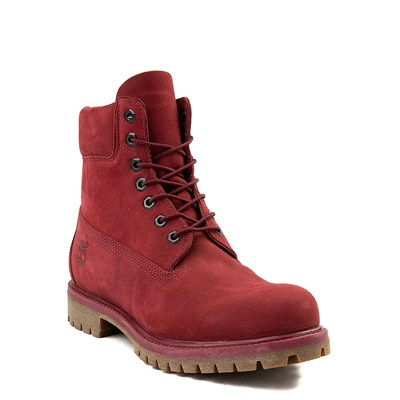 Alternate view of Mens Timberland 6 Inch Classic Boot in Burgundy