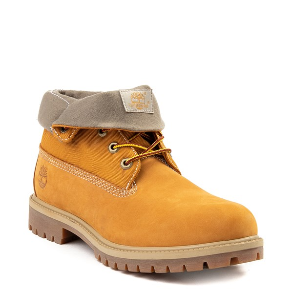 alternate view Mens Timberland Roll-Top Boot - WheatALT1