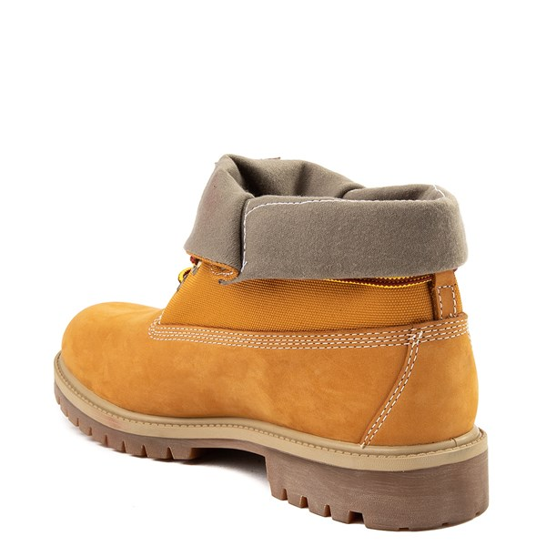 alternate view Mens Timberland Roll-Top Boot - WheatALT2