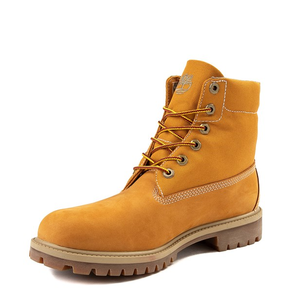 alternate view Mens Timberland Roll-Top Boot - WheatALT3