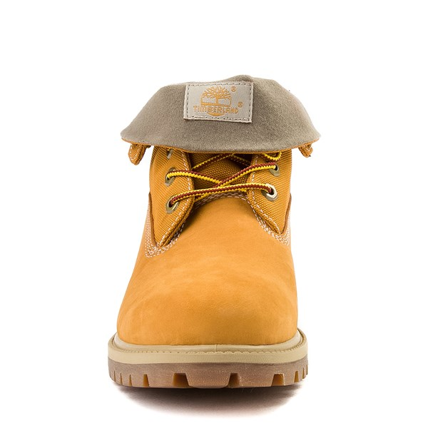 alternate view Mens Timberland Roll-Top Boot - WheatALT4