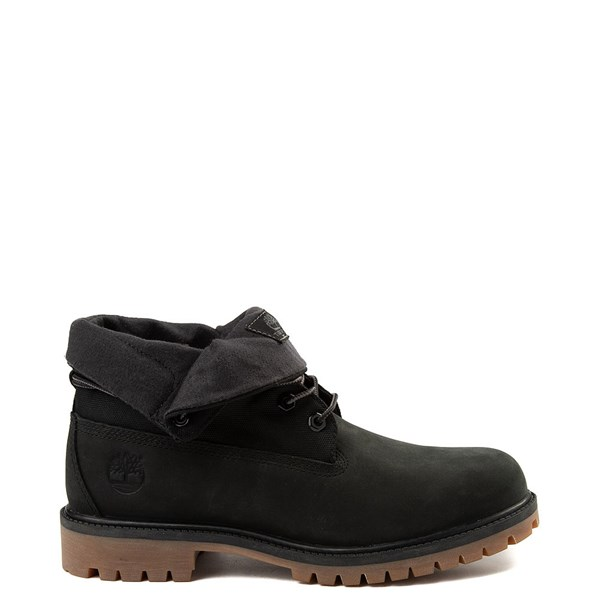 Mens Timberland Roll-Top Boot - Black