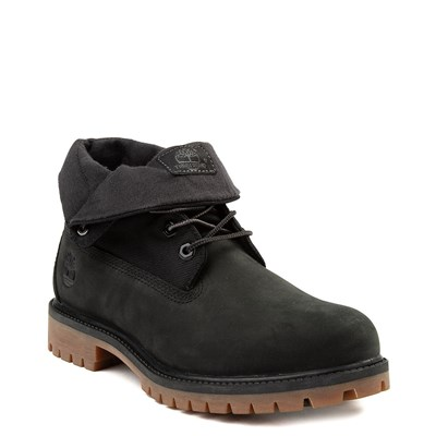 Alternate view of Mens Timberland Roll-Top Boot - Black