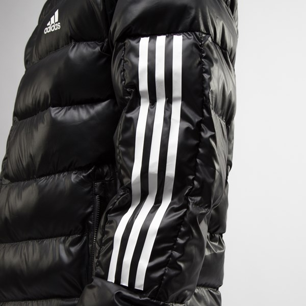 alternate view Mens adidas Itavic 3-Stripes Puffer Jacket - BlackALT7